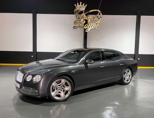 Rent Bentley Flying Spur in Dubai get it at your DXB terminal when visiting Dubai. Or at your door steps. Grand Royal Premium car rental 24/7