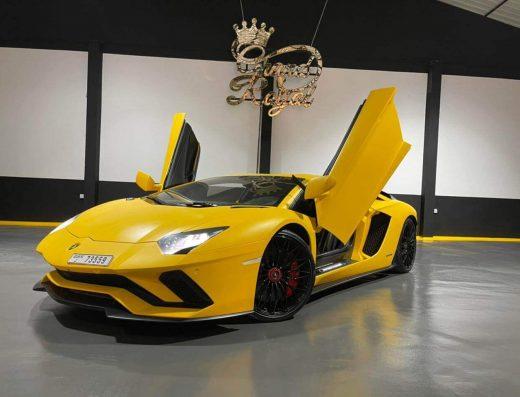 Lamborghini Aventador S – 2020 to rent