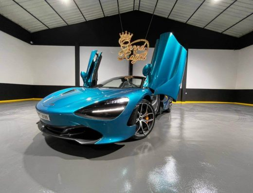 Rent McLaren 720S Spider – 2020 in Dubai from Grand Royal Luxury and Top Sports car rental. This unique Convertible Blue Sport Car in Dubai