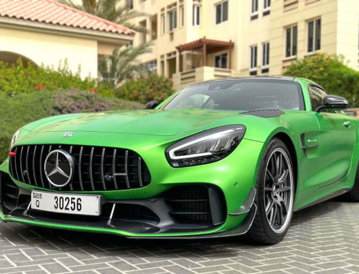 Rent Mercedes-AMG GTR Pro – 2020 the fresh sport car to look Pro in Dubai Get fast unique stylish from Grand Royal Sport Car Rental in Dubai