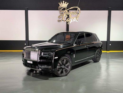 Rent Rolls Royce Cullinan 2021