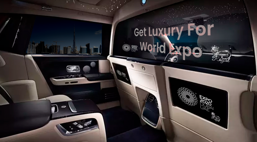 Rent Luxury and Sports Car for World Expo Dubai 2020