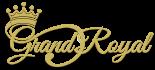 Grand Royal rent a car Logo luxury sports SUVs ans exotic car rental in Dubai